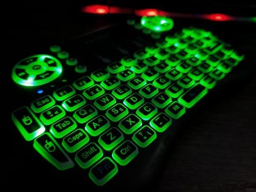 Free stock photo of computer keyboard, electronic keyboard, fingerboard