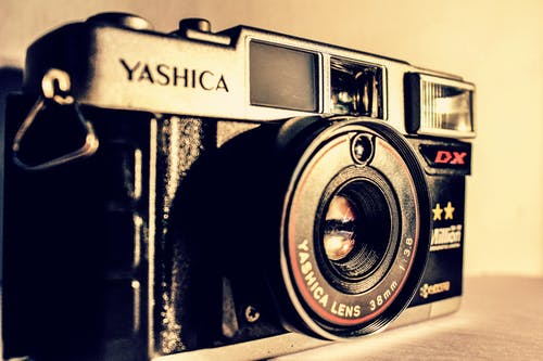 Free stock photo of analog, analog camera, aparture, camera