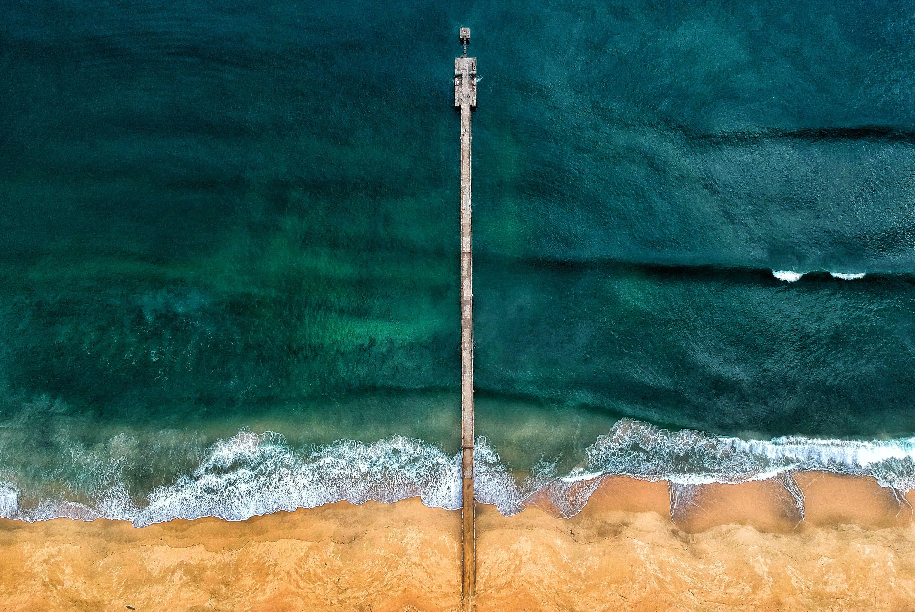 Kostenloses Stock Foto zu anlegesteg, dock, farben, landschaft