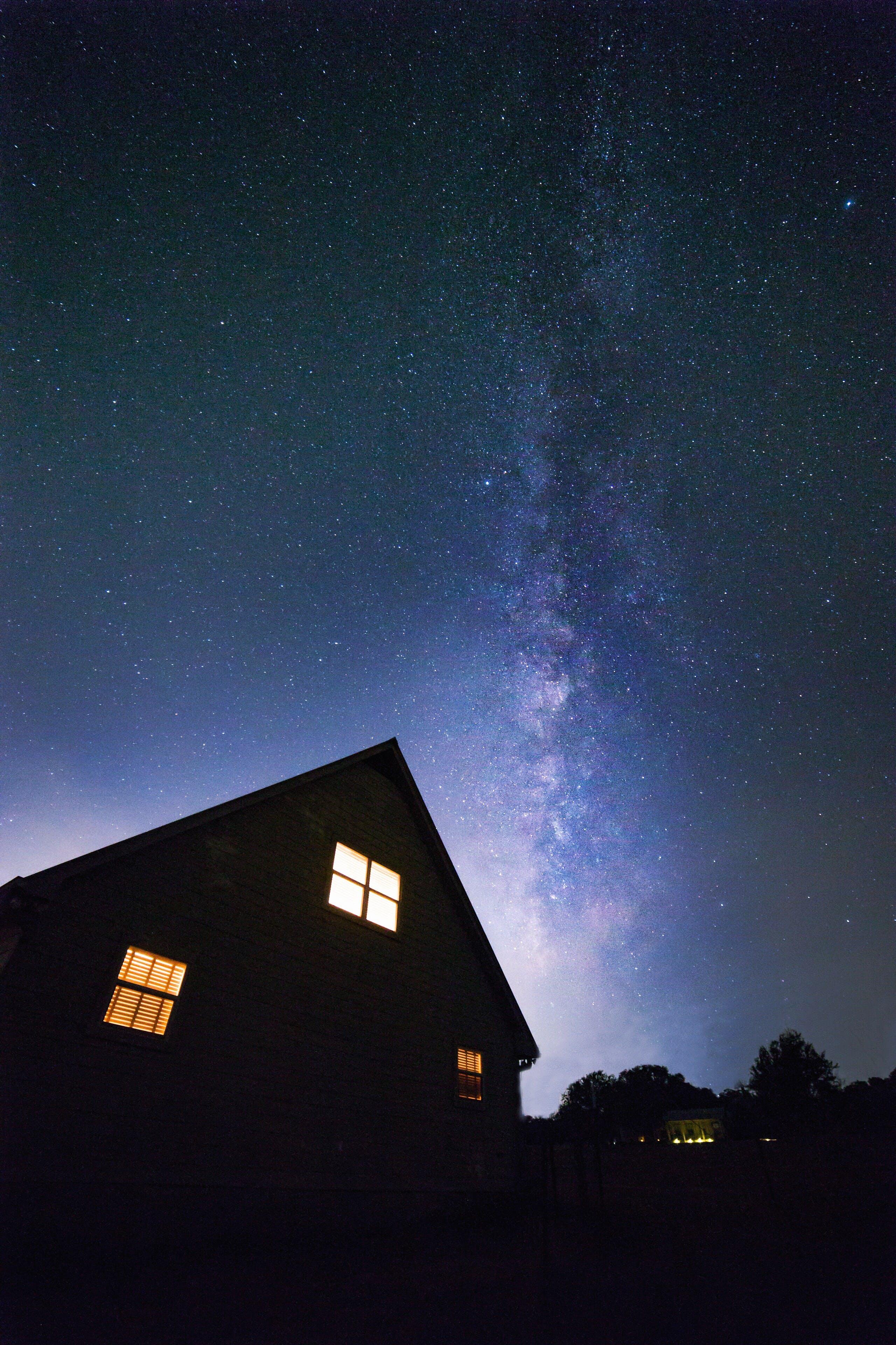 Blue Galaxy Sky