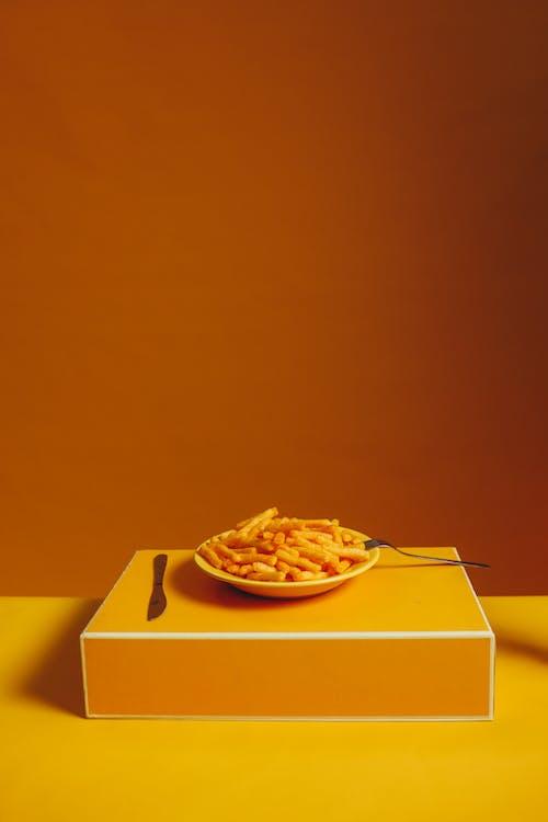 Δωρεάν στοκ φωτογραφιών με orange_background, γρήγορο φαγητό, κανείς