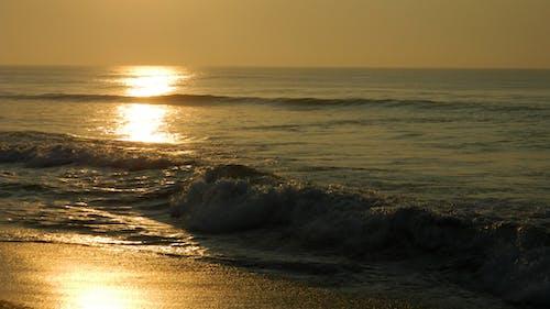 Foto stok gratis laut pantai