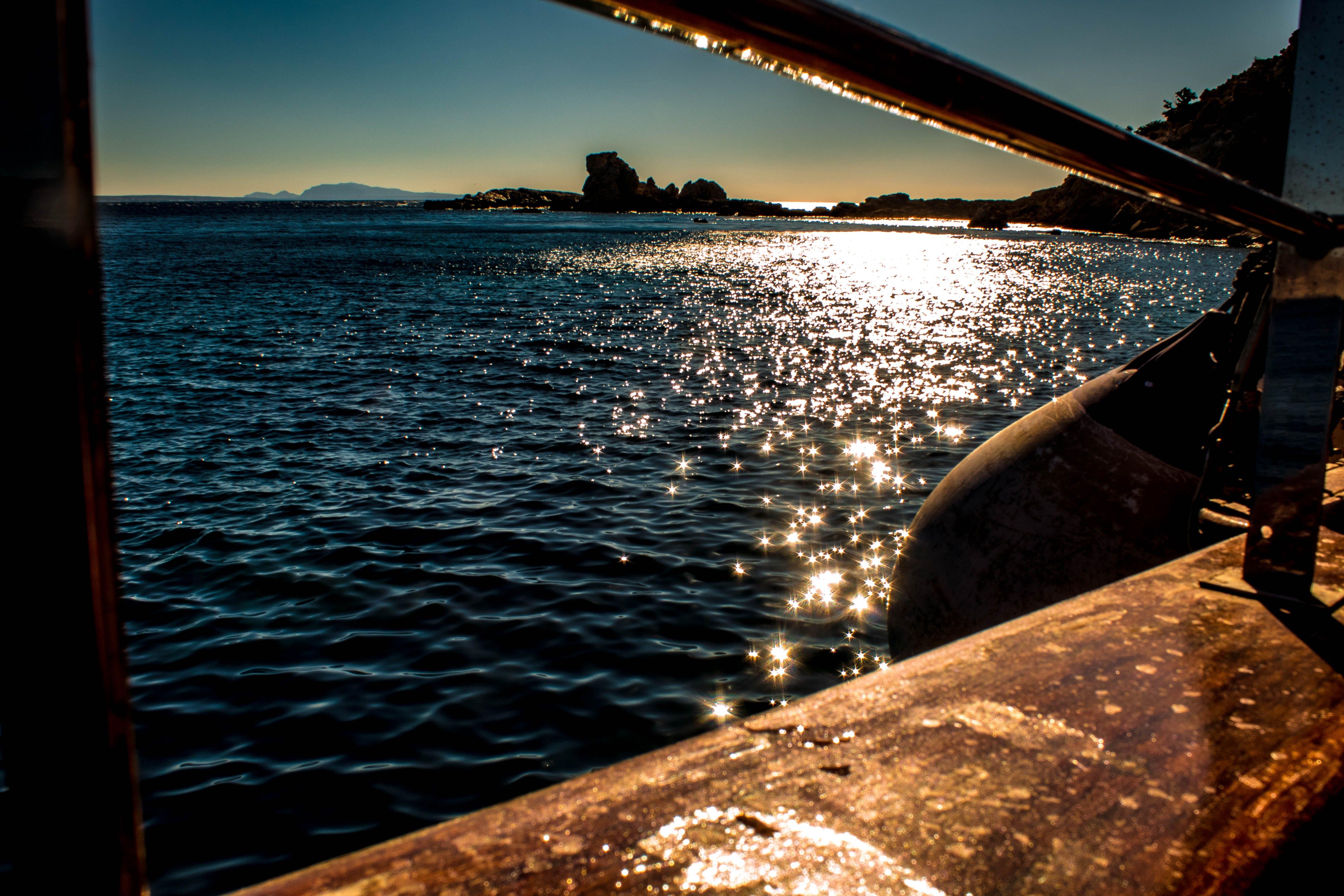 Free stock photo of boat, greece, kos, landscape