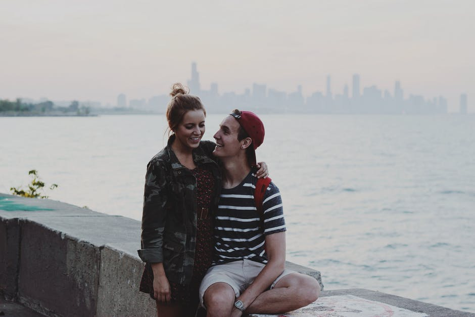 chicago, couple, date