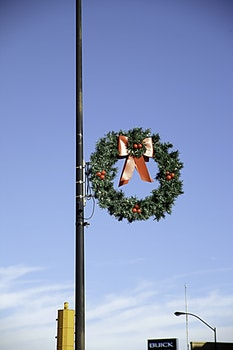 Free stock photo of wreath, christmas decoration