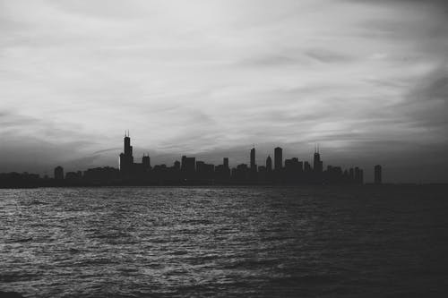 シティ, スカイライン, ニューヨーク, 海の無料の写真素材