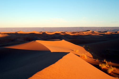 Δωρεάν στοκ φωτογραφιών με αμμοθίνες, άμμος, αυγή, έρημος