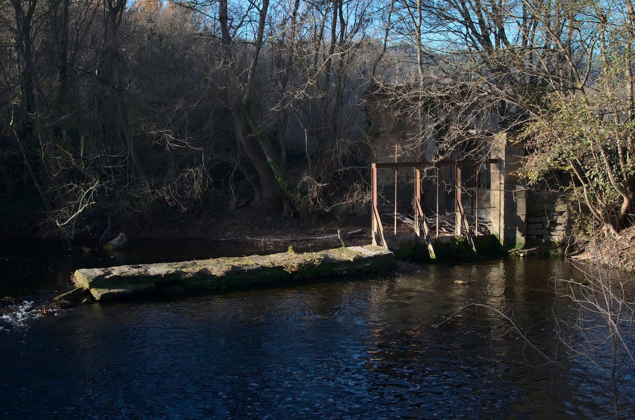 Free stock photo of digue, eau, environment, landscape