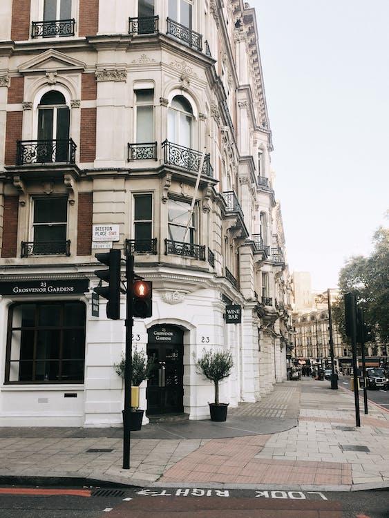 거리, 건물, 건물 외관