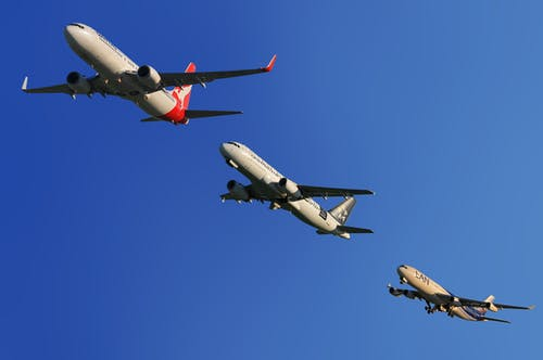 Základová fotografie zdarma na téma let, letectví, letouny, obloha
