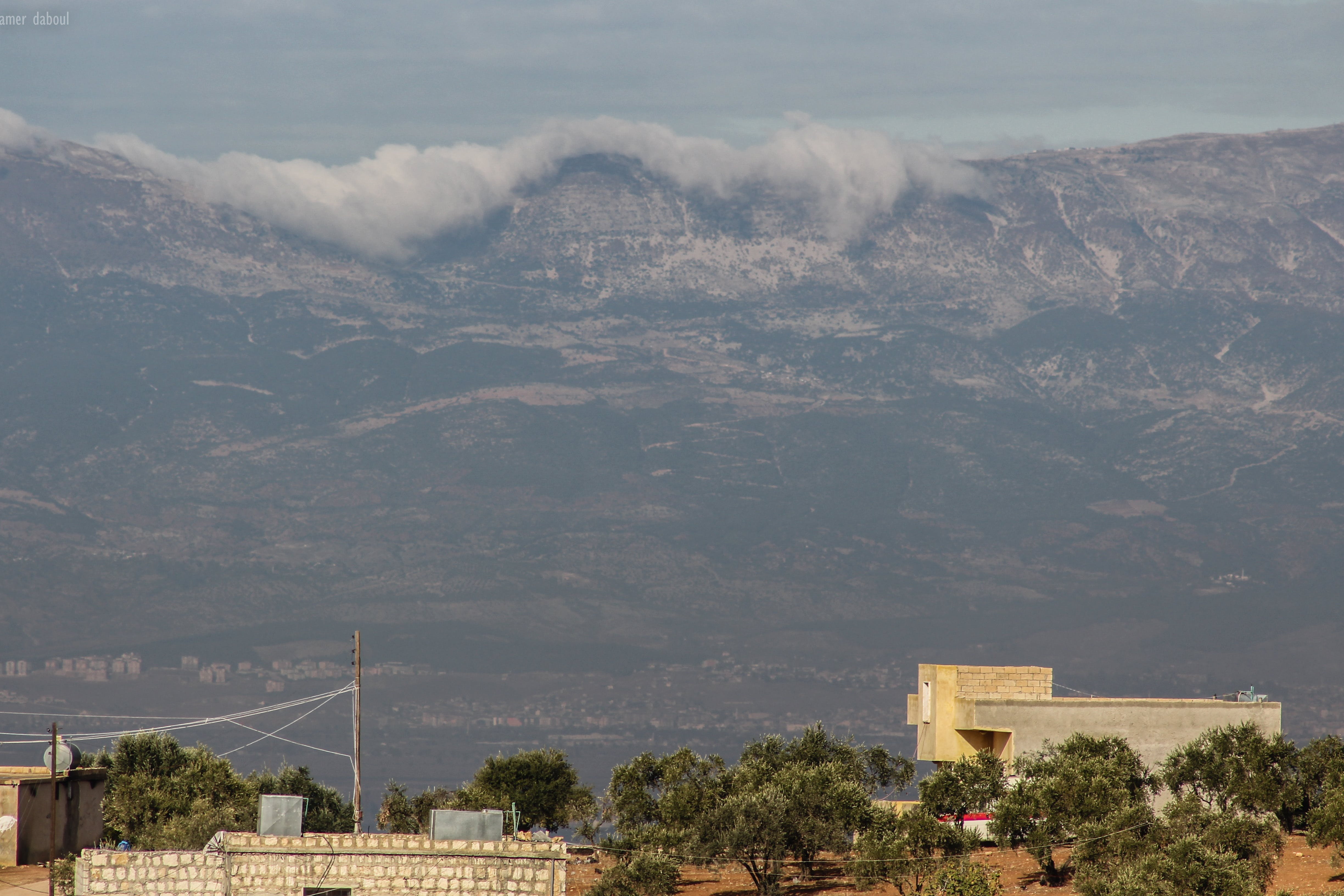 Free stock photo of blue mountains, canon, clouds, hatay
