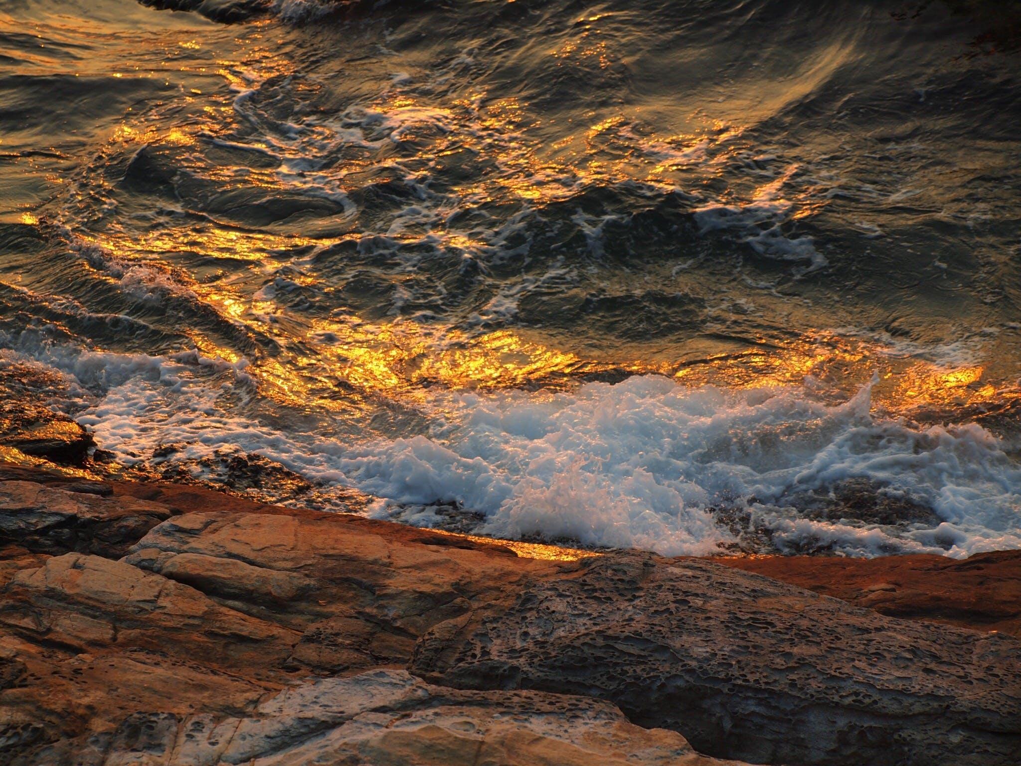 Free stock photo of sea, sunset, thailand