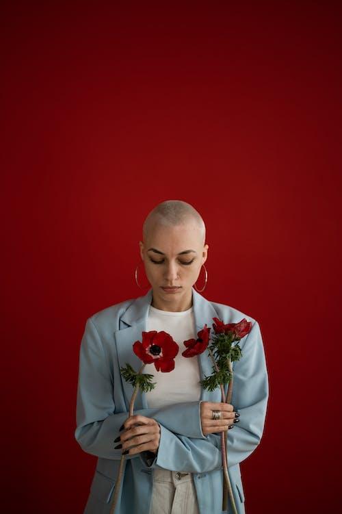 Základová fotografie zdarma na téma aroma, červené pozadí, charismatický