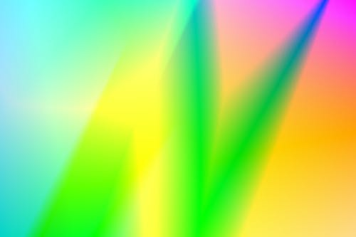 Green Yellow and Pink Light Gradient