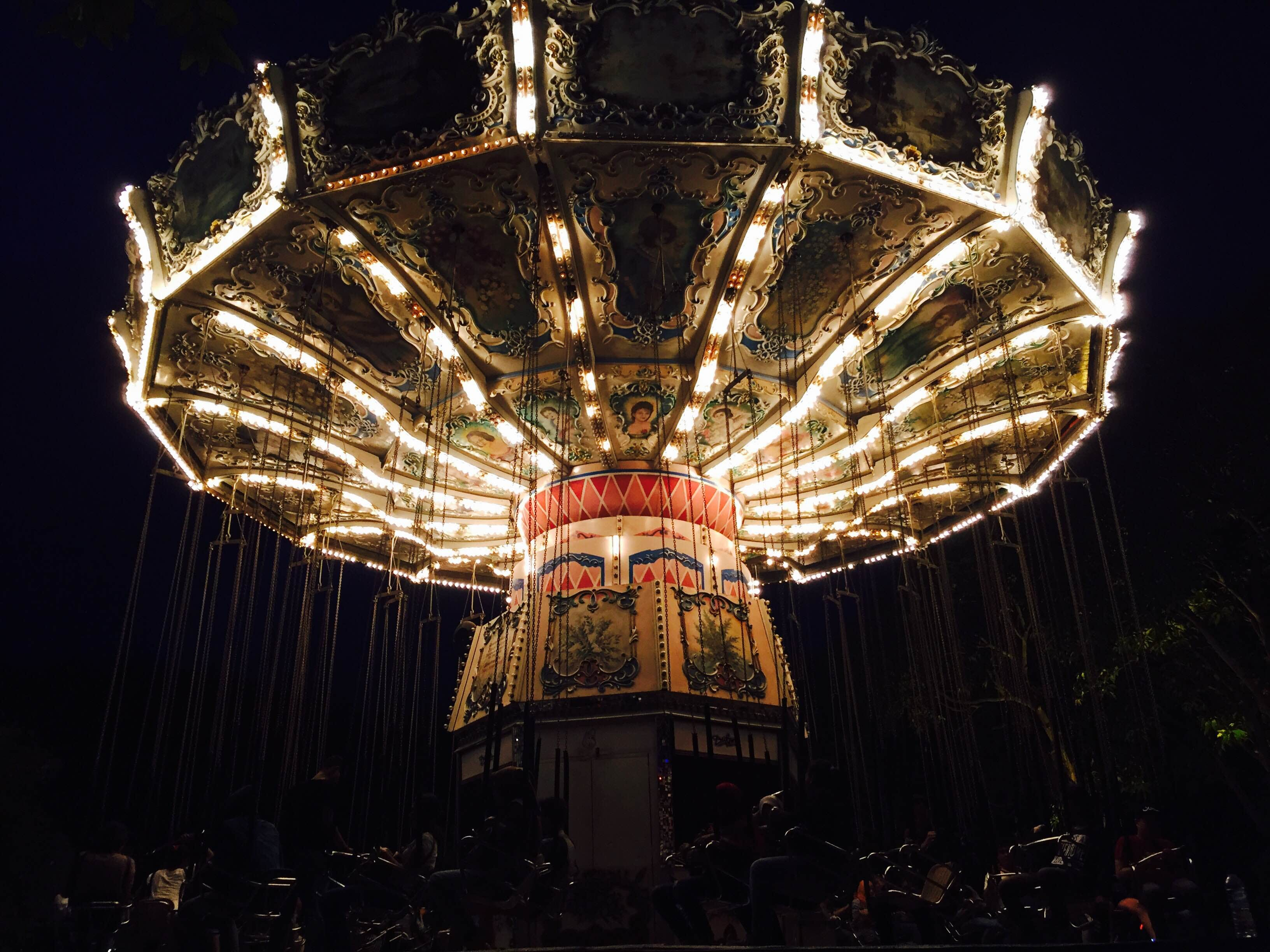Illuminated Carousel