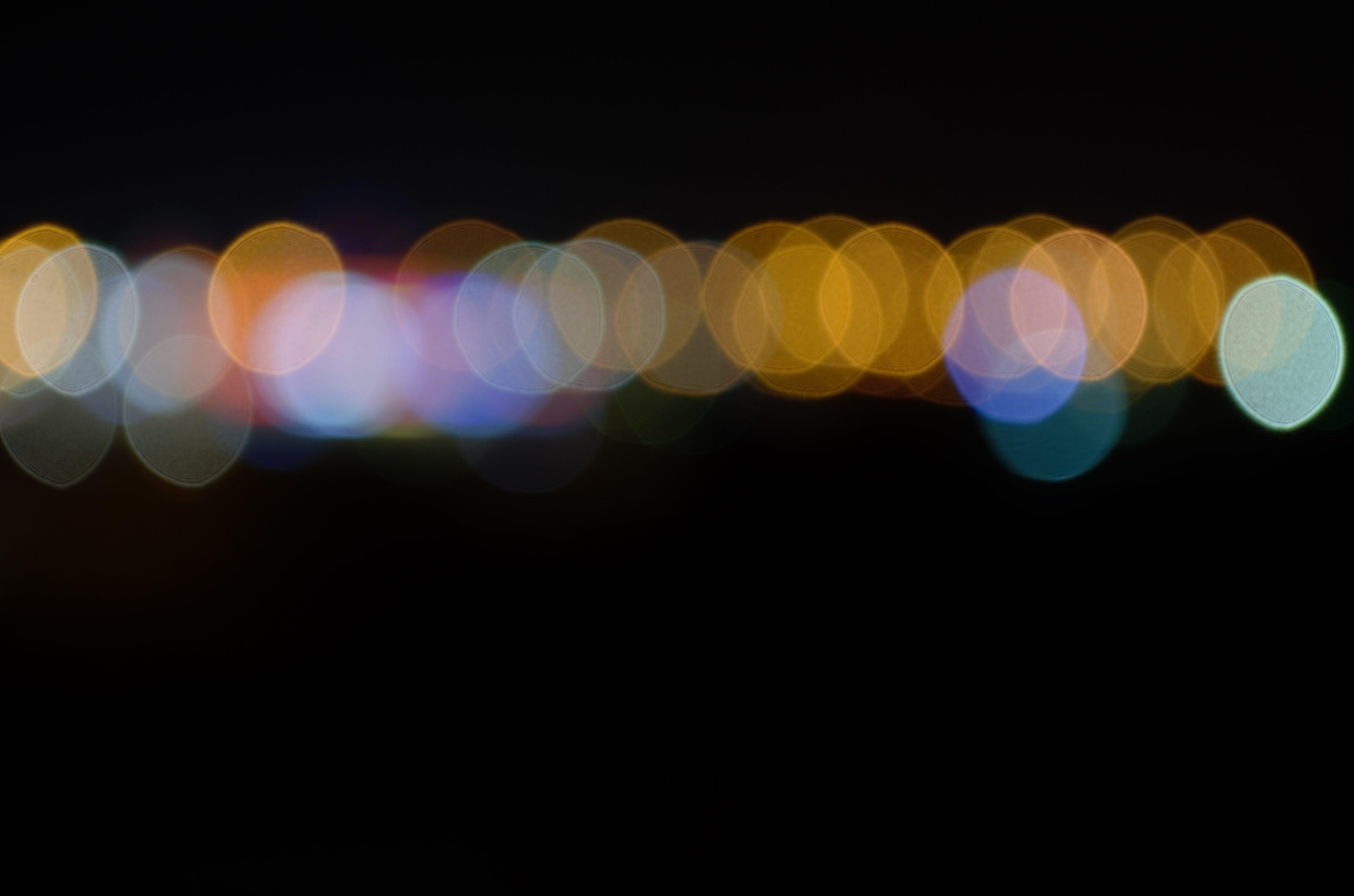Foto profissional grátis de arredondar, borrão, brilhar, concentração