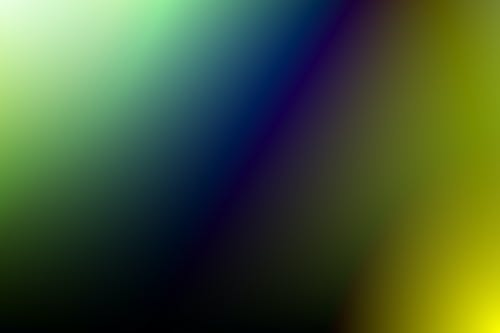 Color Gradient Close Up Image