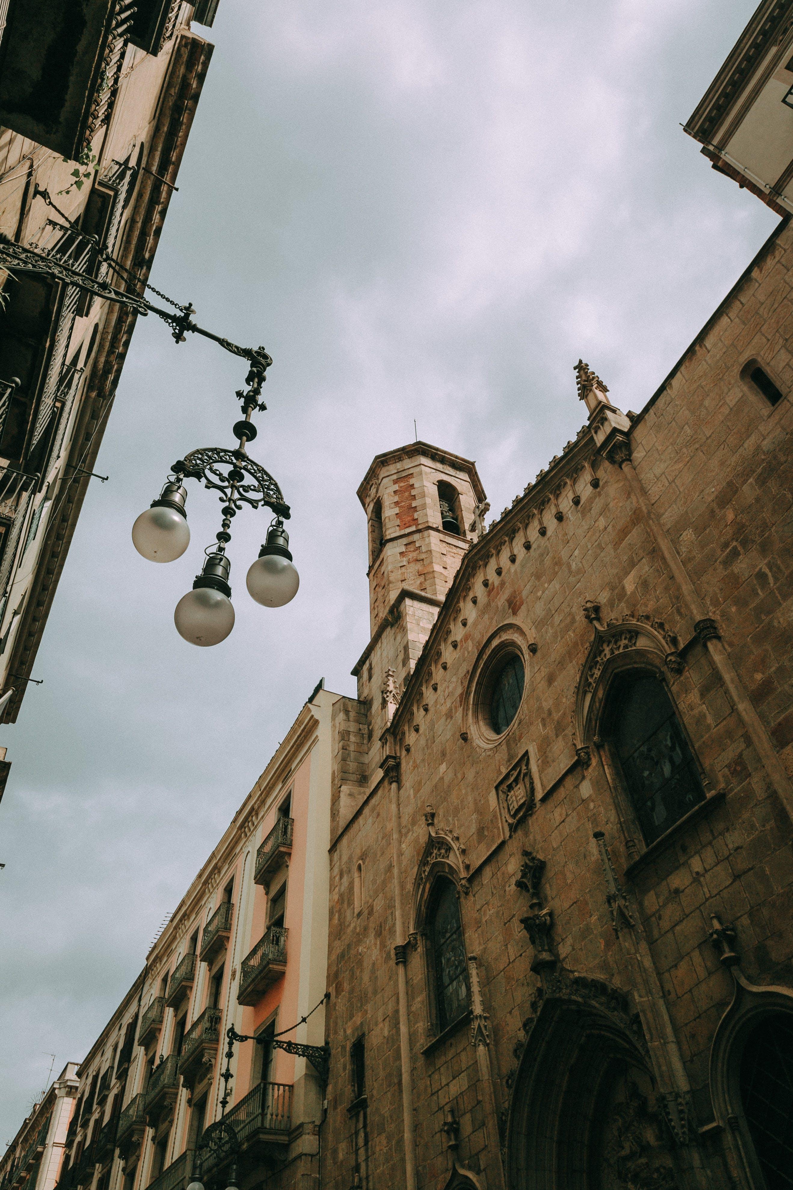 antic, arquitectura, carrer