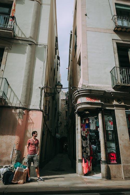 arquitectura, botiga, carrer