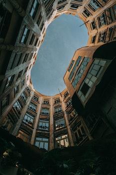Kostenloses Stock Foto zu licht, stadt, kunst, skyline