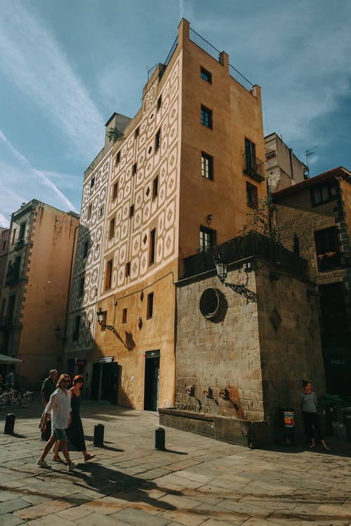 alt, arquitectura, carrer