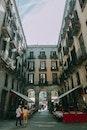 city, road, sky