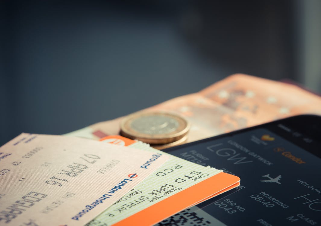 Orange and Green Label Airplane Ticket - Best Booking Options for Air Travel