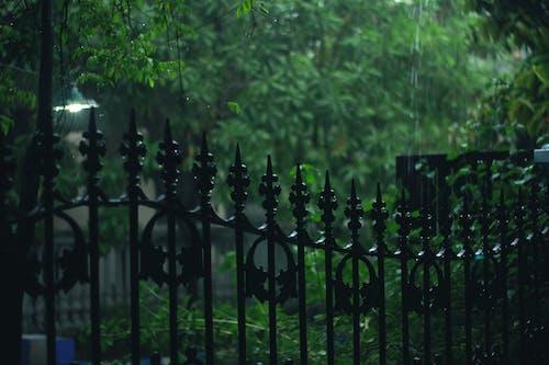 Fotobanka sbezplatnými fotkami na tému dážď, exteriéry, farby, kov