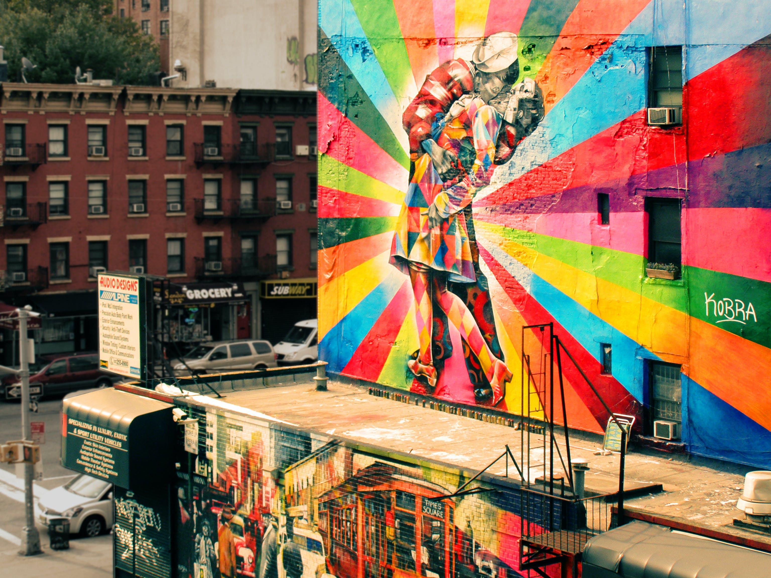 Couple Mural
