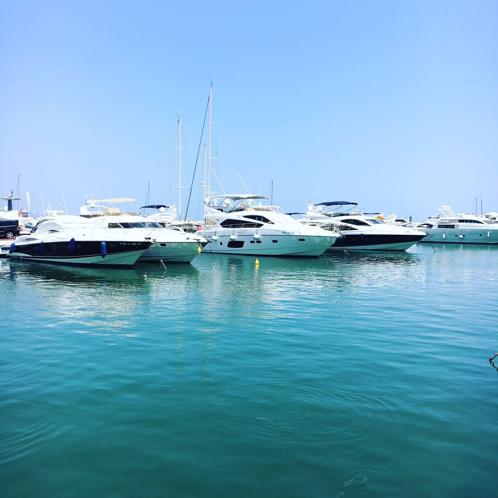 Free stock photo of blue sky, boats, harbour, sea