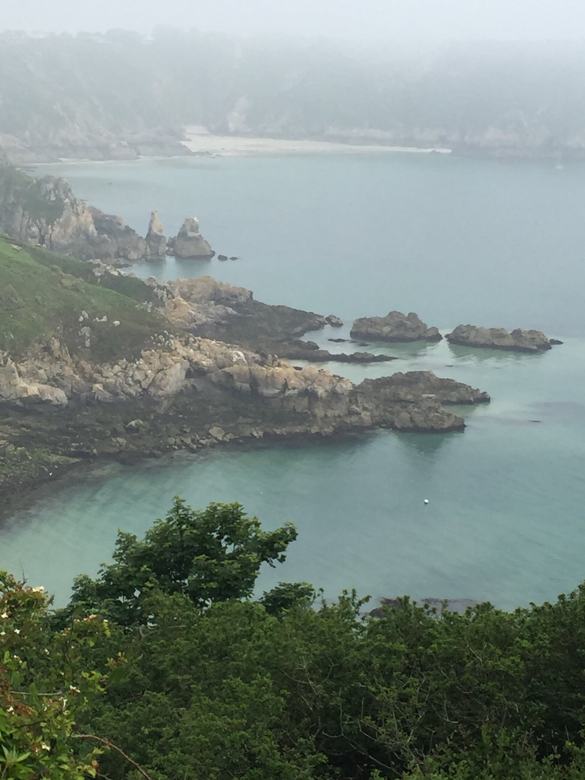 Free stock photo of cliffside, mist, rocks, sea