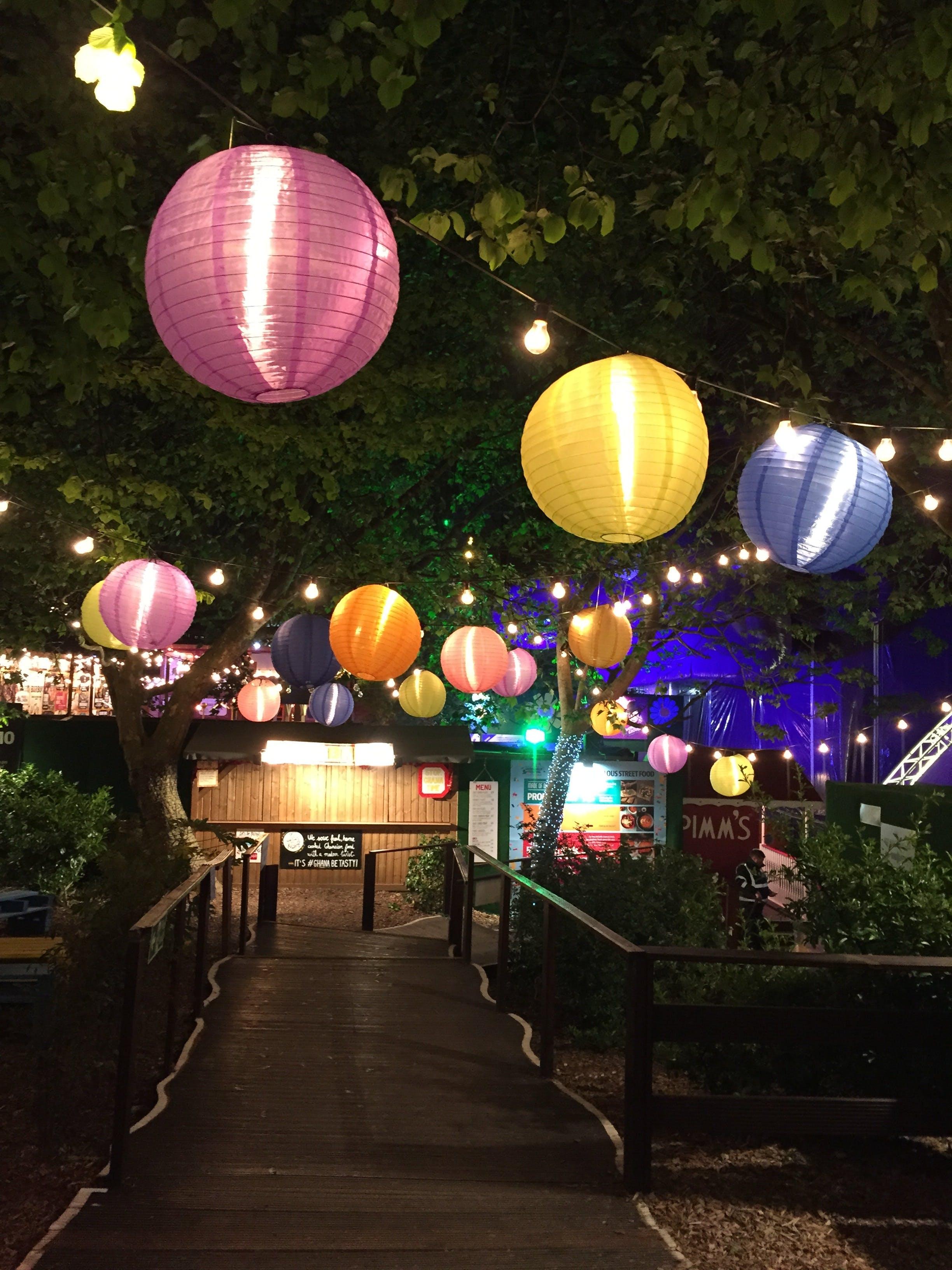 Kostenloses Stock Foto zu restaurant, natur, ferien, beleuchtung