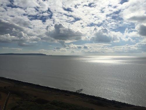 구름, 구름 낀 하늘, 바다의 무료 스톡 사진