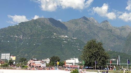 Free stock photo of beautiful sky, hills, jammu