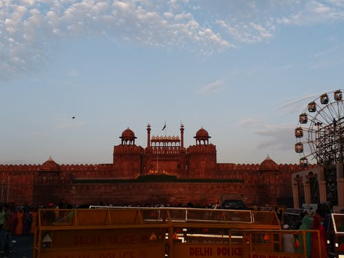 Free stock photo of independence, monument, red fort