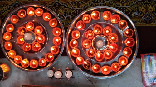 Free stock photo of background, decoration, diwali