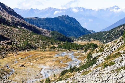 Immagine gratuita di montagne, natura, paesaggio, ruscello