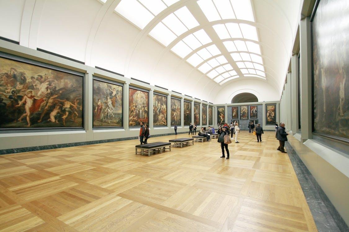 folk, galleri, kunst