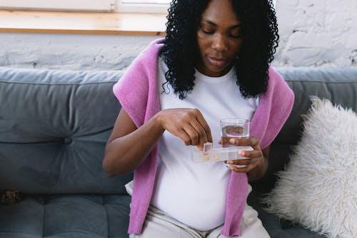 Kostenloses Stock Foto zu abdomen, afroamerikaner-frau, bauch