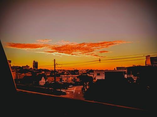 Fotos de stock gratuitas de cielo nublado, sol de tarde