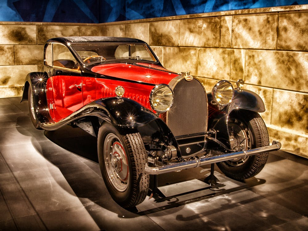 automóvel, bugatti, carro