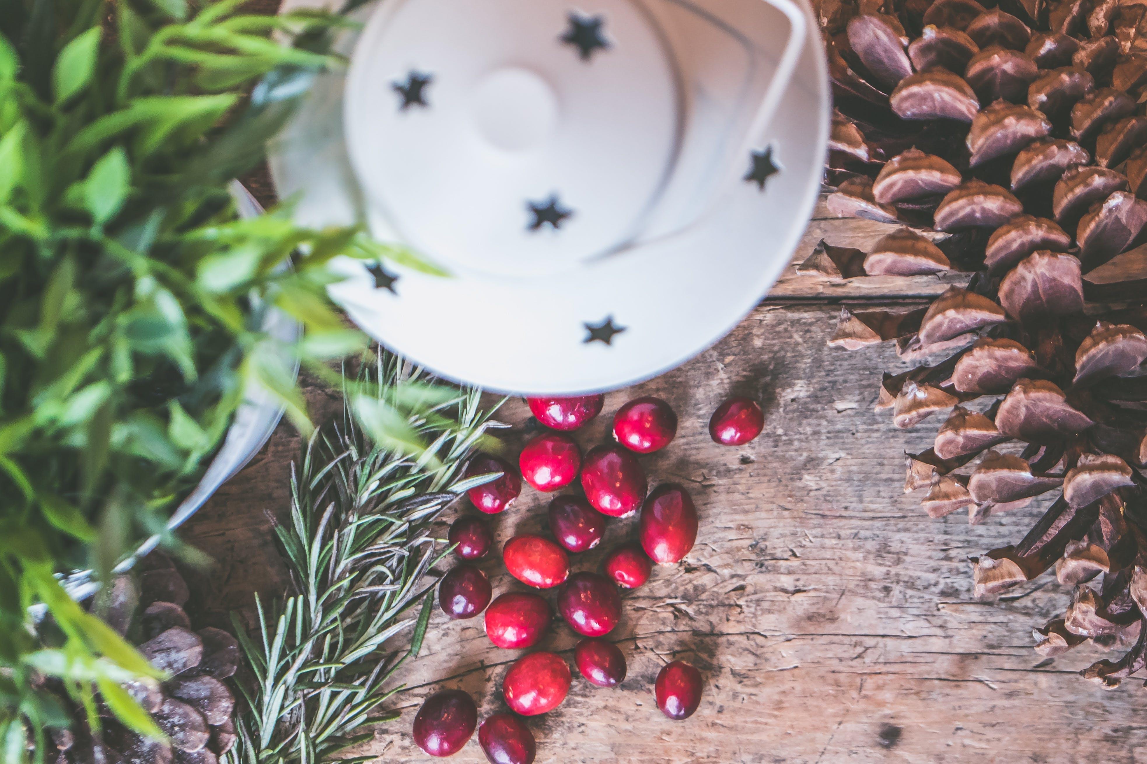 Kostenloses Stock Foto zu braun, draufsicht, farben, früchte