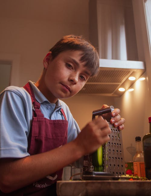 Free stock photo of child cooking, cooking, cooking competition