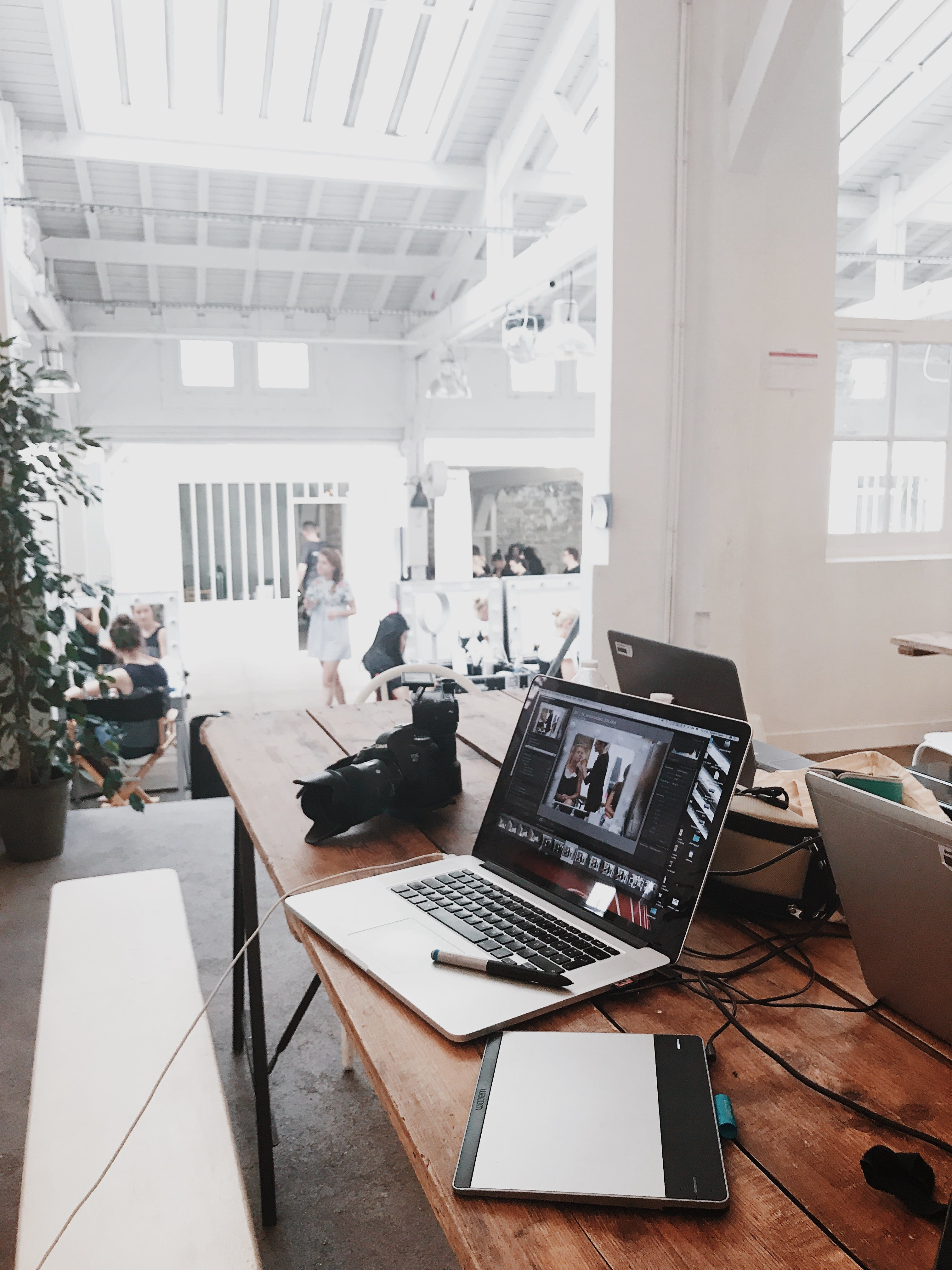 arbeitsplatz, büro, drinnen