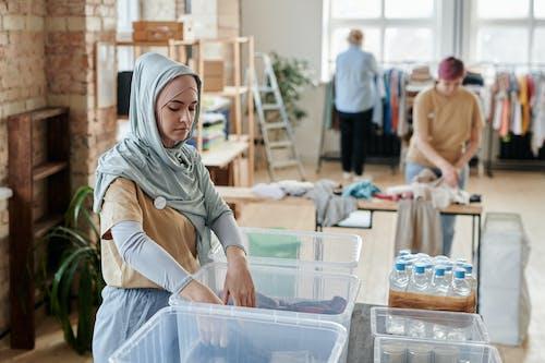 Foto stok gratis amal, jilbab, kaum wanita