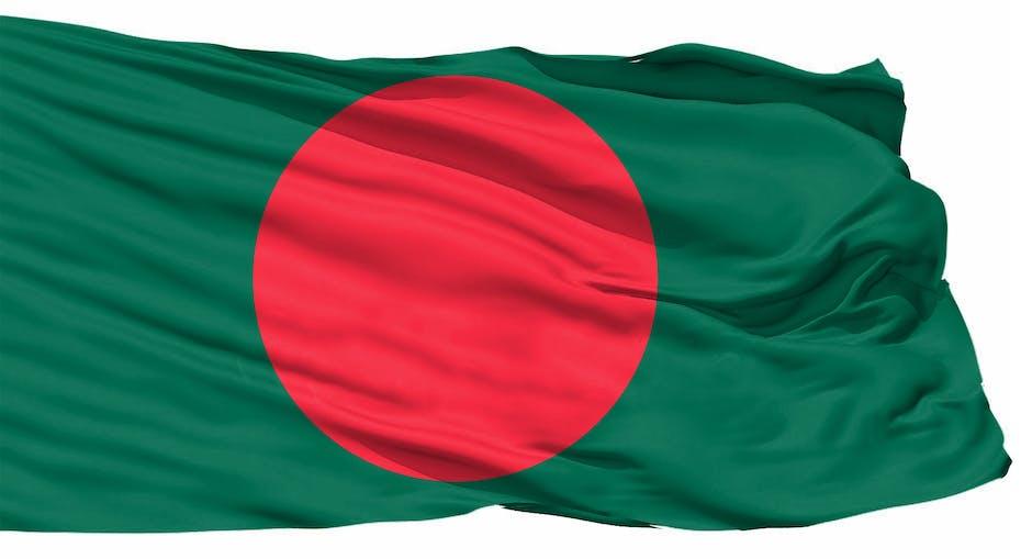 Bangladesh 3D Flag