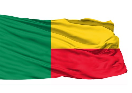 Free stock photo of Benin 3D Flag