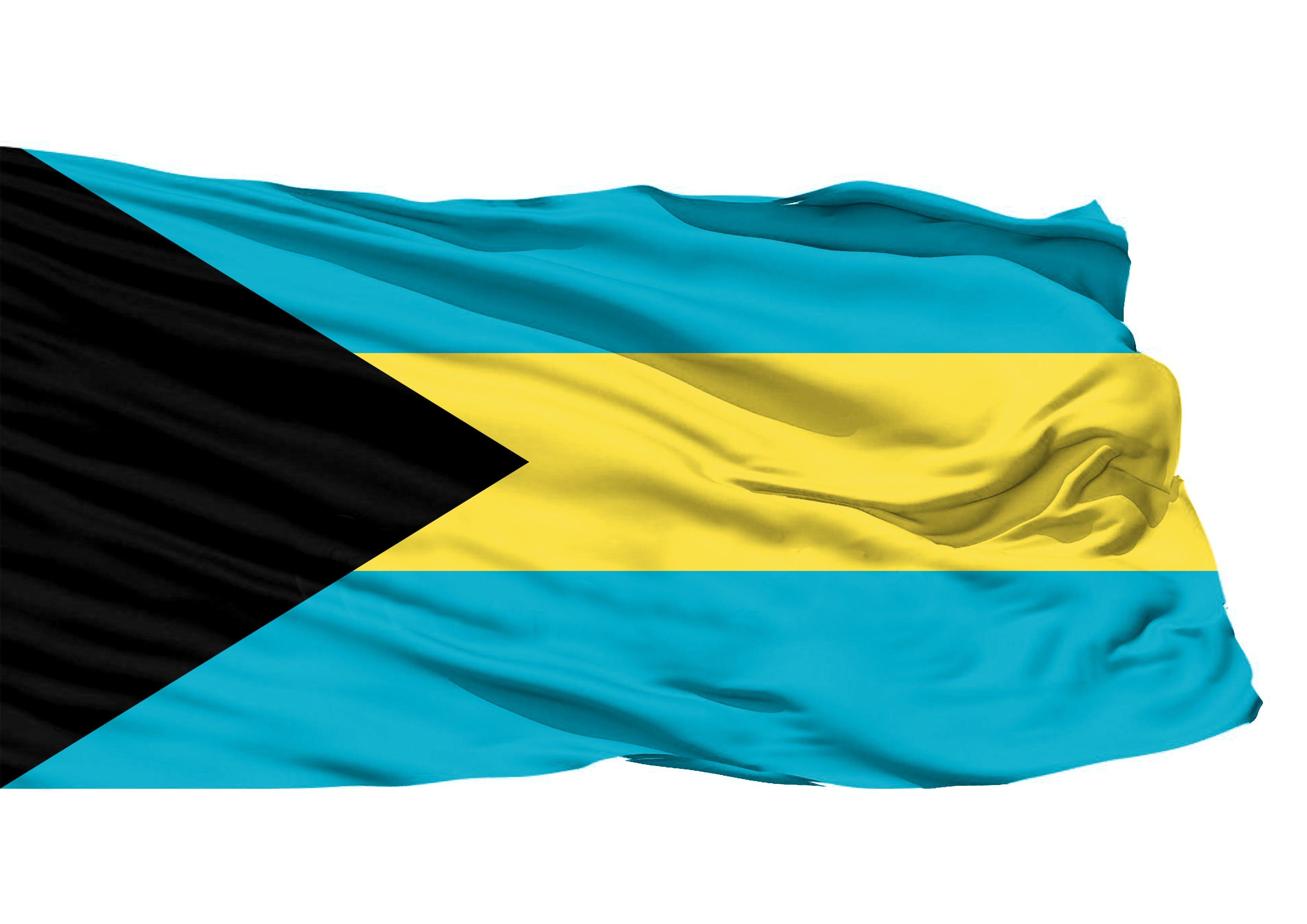 Kostenloses Stock Foto zu bahamas 3d flagge