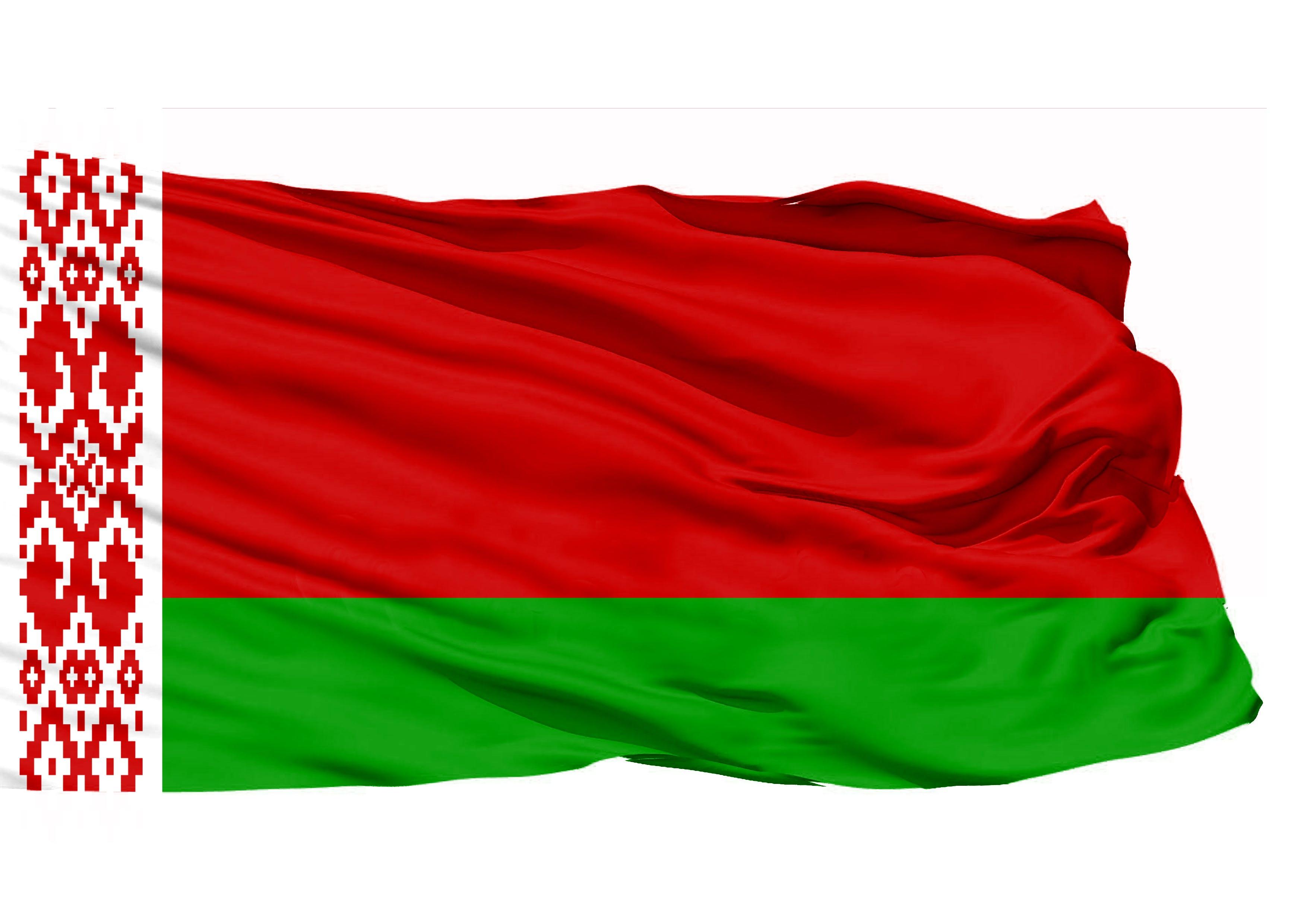 Kostenloses Stock Foto zu weißrussland 3d flagge