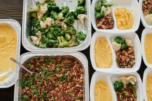 Foto d'estoc gratuïta de bròquil, carmanyola, contenidors